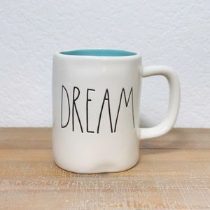 Rae Dunn Dream Mug with Blue Inside